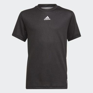 Jongens Fitness En Training Zwart AEROREADY T-shirt
