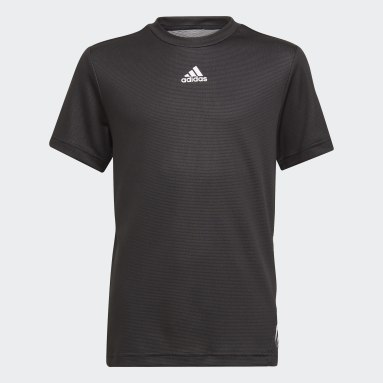 Boys Gym & Training Black AEROREADY Tee