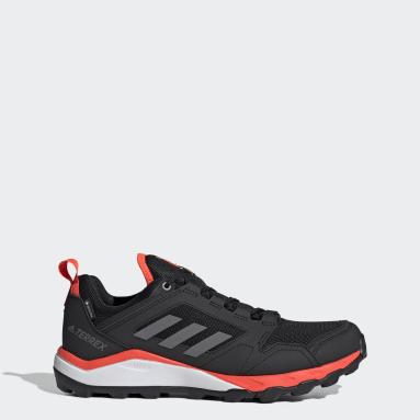 ผู้ชาย TERREX สีดำ รองเท้าวิ่งเทรล Terrex Agravic TR GORE-TEX