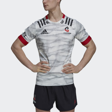 Maillot Crusaders Rugby Alternate Replica Blanc Hommes Rugby