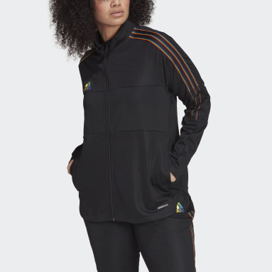 Football Black Tiro Pride Track Top (Plus Size)
