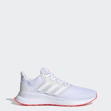 Frauen Running Runfalcon Schuh Weiß