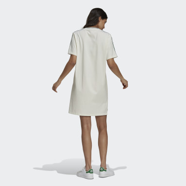 Women Originals White Tennis Luxe Tee Dress