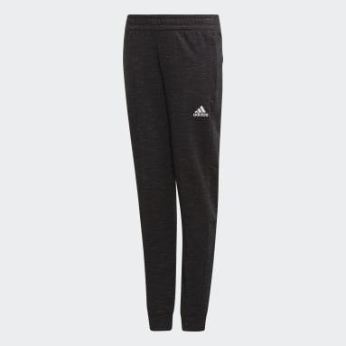 Pantalón ID Mélange Negro Niña Training