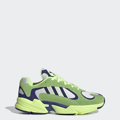 Scarpe Yung-1 Verde Uomo Originals