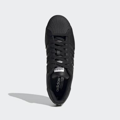 Heren Originals Zwart Superstar Schoenen