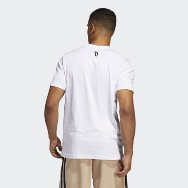 Men Basketball White Dame Avatar Pocket Tee