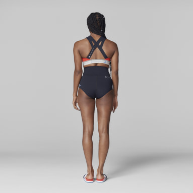 Haut de bikini adidas by Stella McCartney BeachDefender noir Femmes adidas by Stella McCartney