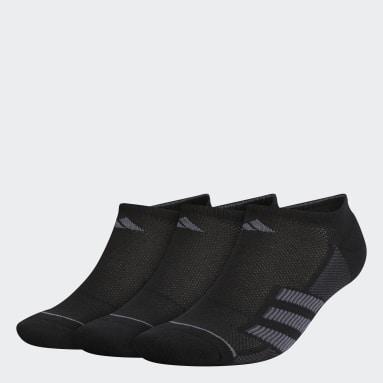 Men's Training Black Superlite Stripe 2 No-Show Socks 3 Pairs