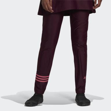 Pantaloni da nuoto 3-Stripes Rosso Donna Nuoto