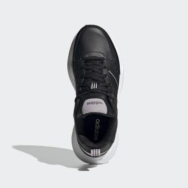 Kadın Sport Inspired Siyah Strutter Ayakkabı