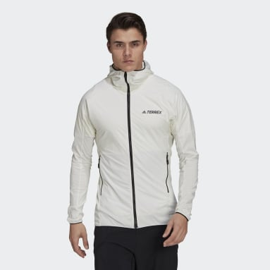 Terrex Skyclimb Fleece Jakke Hvit
