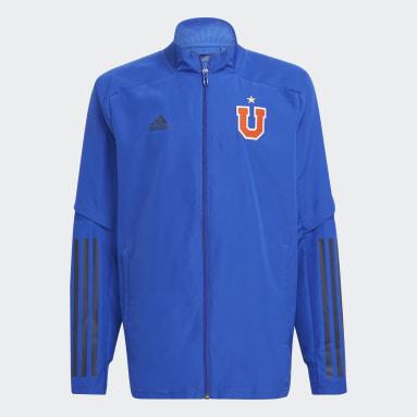 Conjunto de Presentación Club Universidad de Chile Azul Niño Fútbol