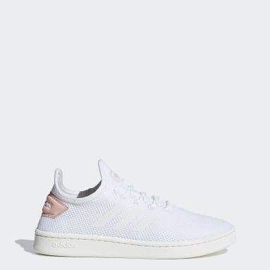 Women Lifestyle White Court Adapt Shoes