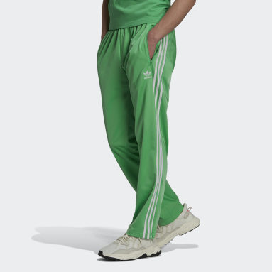 Men Originals Green Adicolor Classics Firebird Primeblue Tracksuit Bottoms