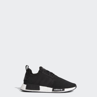 Kids Originals Black NMD_R1 Refined Shoes