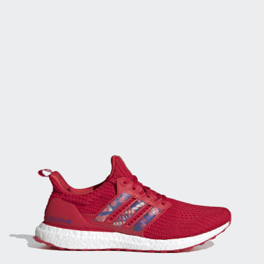 Chaussure Ultraboost DNA rouge Course