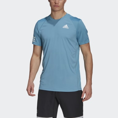 T-shirt Club Tennis 3-Stripes Bleu Hommes Tennis