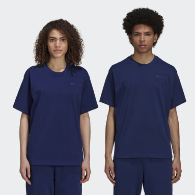 Originals Blå Pharrell Williams Basics Shirt (Gender Neutral)