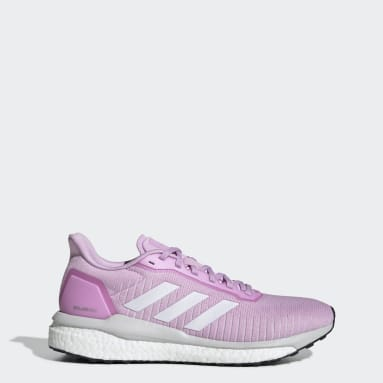 Women Running Purple Solar Drive 19 Shoes