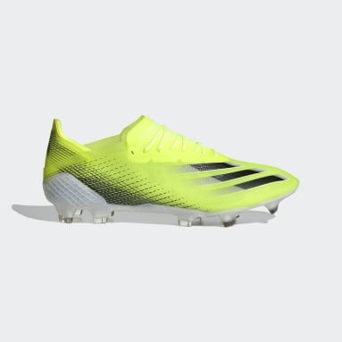 Chaussure X Ghosted.1 Terrain souple jaune Hommes Soccer