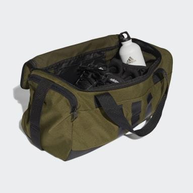 Lifestyle Green Essentials 3-Stripes Duffel Bag Small