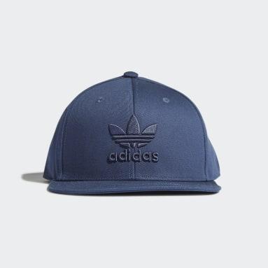 Snapback Trefoil Caps Blå