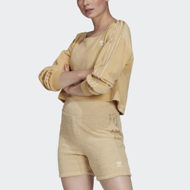 Sweat-shirt LOUNGEWEAR Beige Femmes Originals