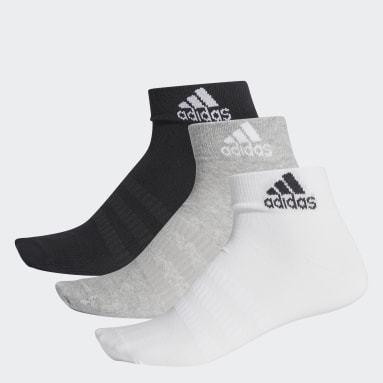 Calcetines al Tobillo 3 Pares (UNISEX) Gris Training