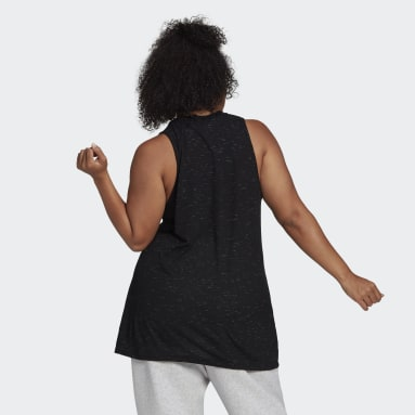 Women Sportswear Black adidas Sportswear Winners 2.0 Tank Top (Plus Size)