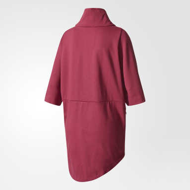 Sudadera adidas Z.N.E. Cocoon Granate Mujer Sportswear