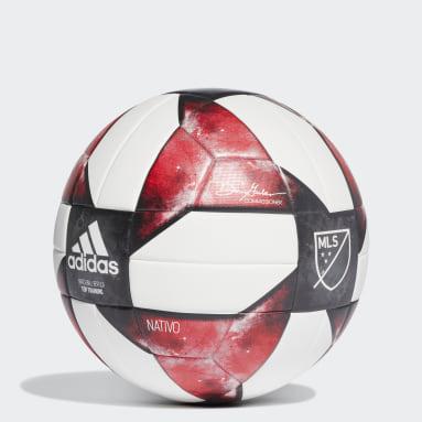 Soccer White MLS NFHS Top Training Ball