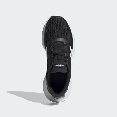 Kids Running Black Tensaur Shoes