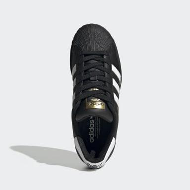 Genç Originals Siyah Superstar Ayakkabı