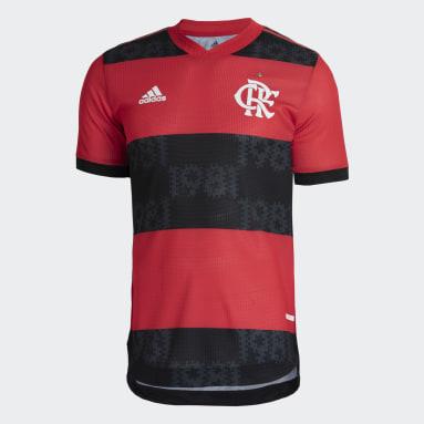 Camisa 1 Autêntica CR Flamengo 21 Vermelho Homem Futebol