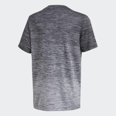 Boys Gym & Training Black AEROREADY Gradient T-Shirt