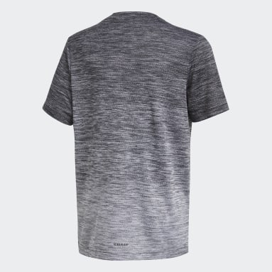 Boys Gym & Training Black AEROREADY Gradient Tee