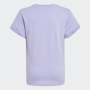 фиолетовый Футболка Adicolor Graphic