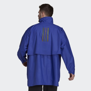 Men City Outdoor Purple MYSHELTER Parley WIND.RDY Anorak Jacket