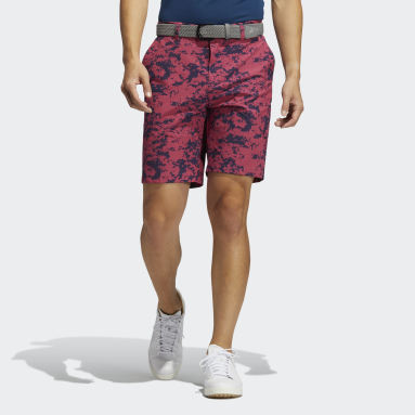Men Golf Pink Ultimate365 Camo Shorts