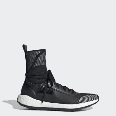 Women's adidas by Stella McCartney Black Pulseboost HD Mid Shoes