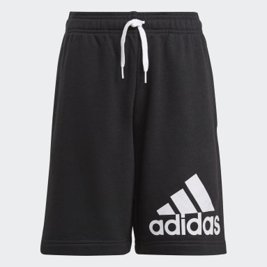 Boys Lifestyle Black adidas Essentials Shorts