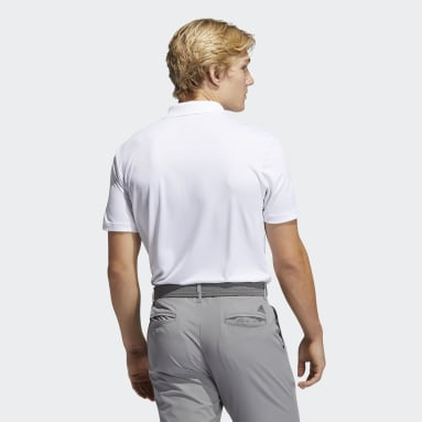 Heren Golf Wit Performance Primegreen Poloshirt