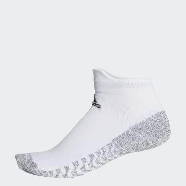 Training White Alphaskin Traxion Ultralight Ankle Socks