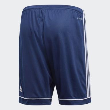 Short Squadra 17 Bleu Hommes Fitness Et Training