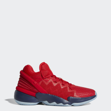 Basketbal červená Boty D.O.N. Issue #2