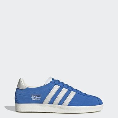 Men Originals Blue Gazelle Vintage Shoes