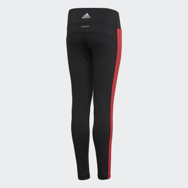 Youth 8-16 Years Yoga Black Believe This Bold Leggings