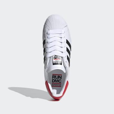 Chaussure Superstar Run-DMC blanc Originals