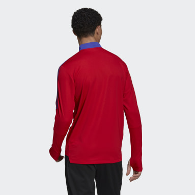 Men's Soccer Red Tiro Primeblue Training Top
